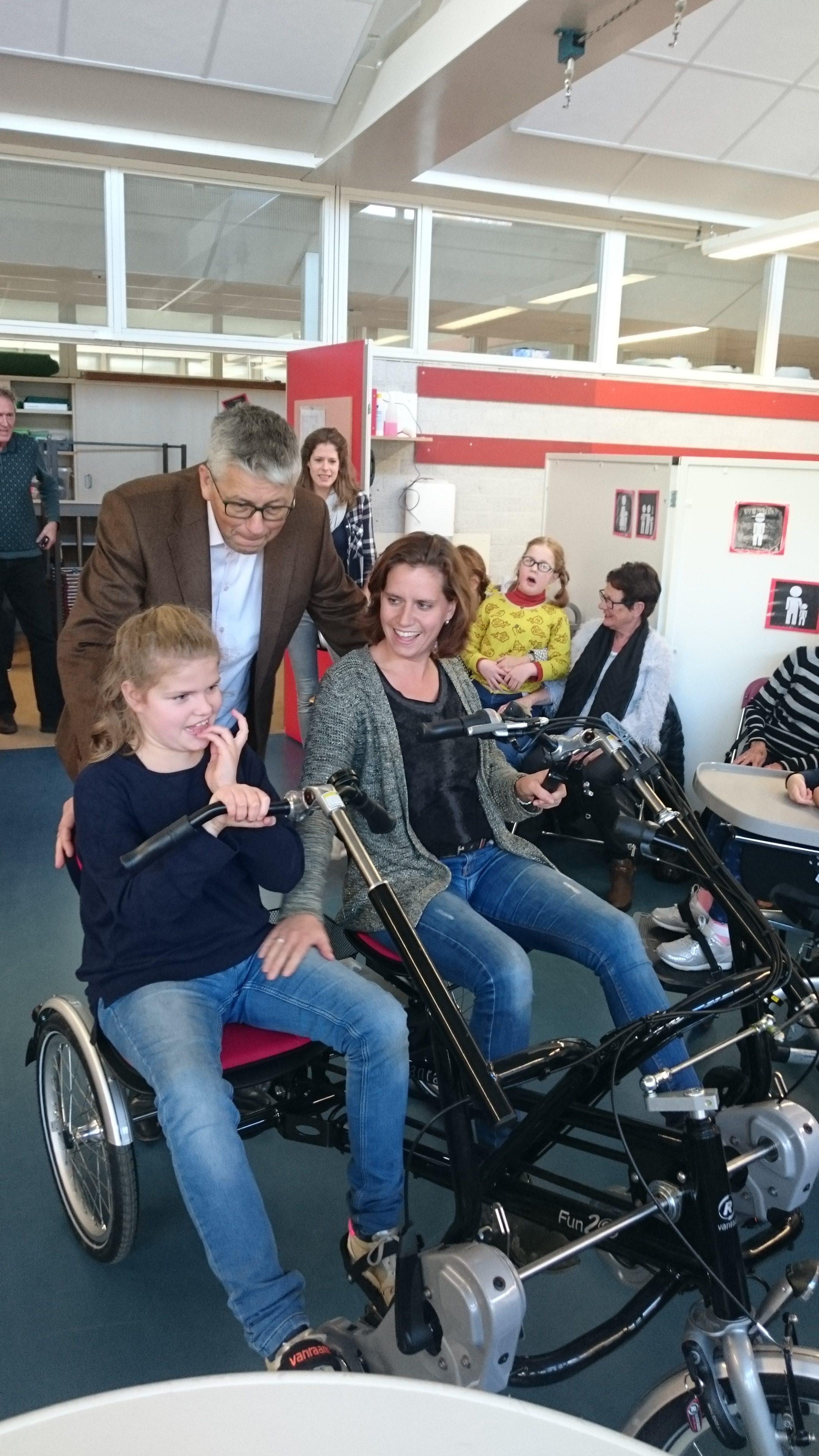 Fun2Go Duo-fiets voor EMB-leerlingen