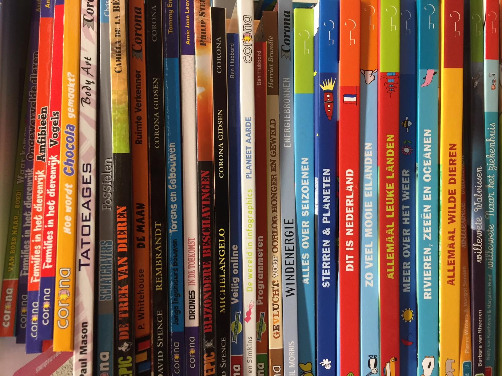 Veel nieuwe leesboeken na opschoonactie mediatheek