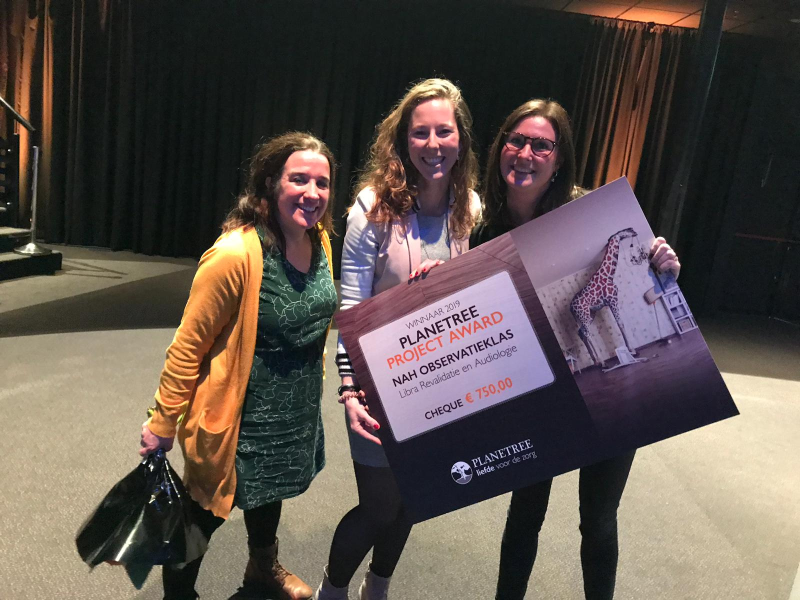 NAH-observatieklas winnaar Planetree Award 2019!
