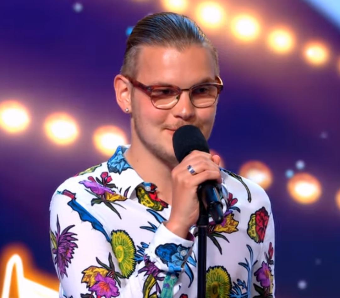 Yannick schittert in Holland's Got Talent