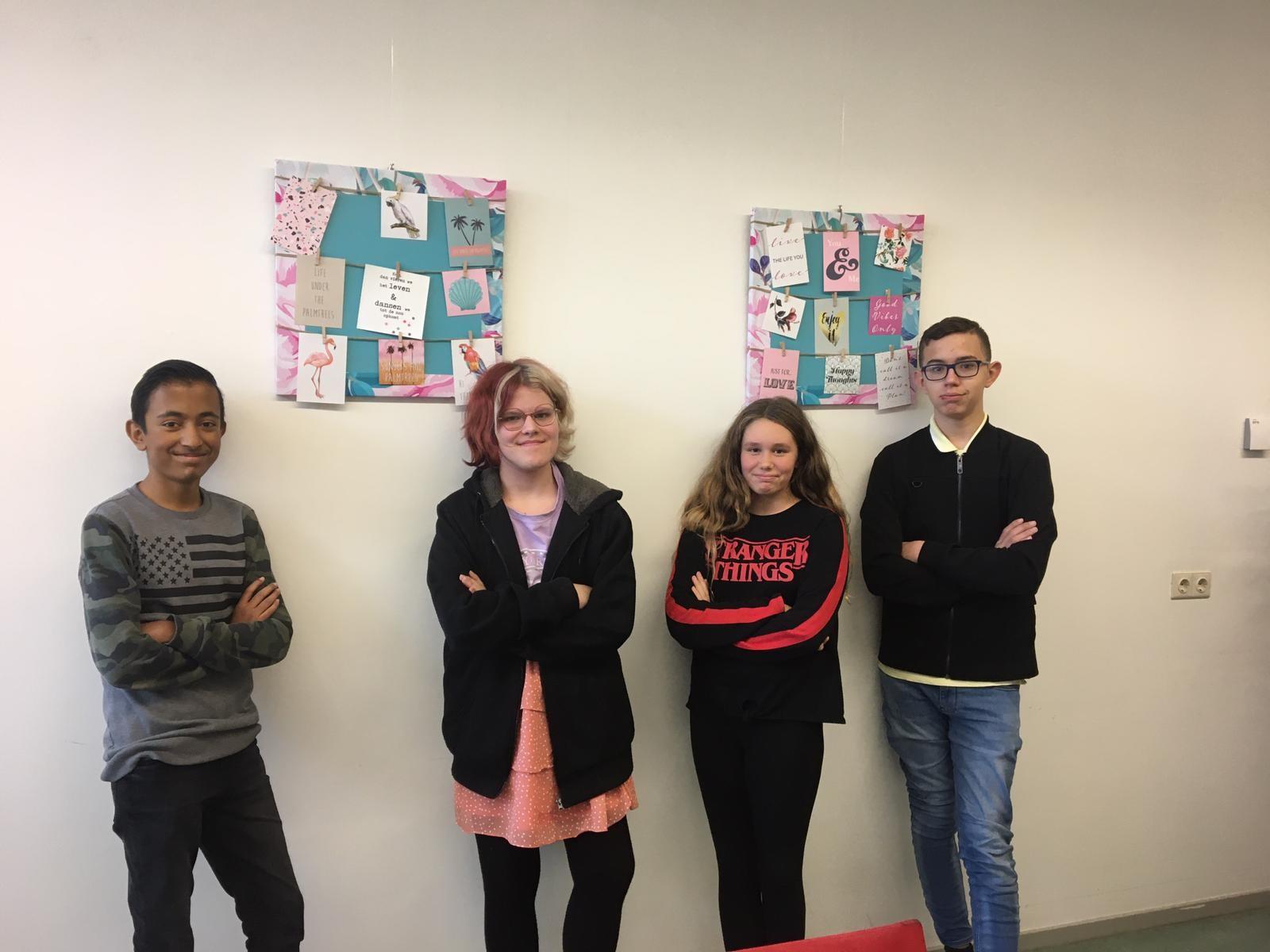 Nieuwe leerlingenraad
